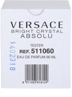 Versace Bright Crystal Absolu parfémovaná voda tester pro ženy 4