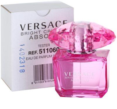 Versace Bright Crystal Absolu parfémovaná voda tester pro ženy 1