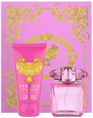 Versace Bright Crystal Absolu lotes de regalo