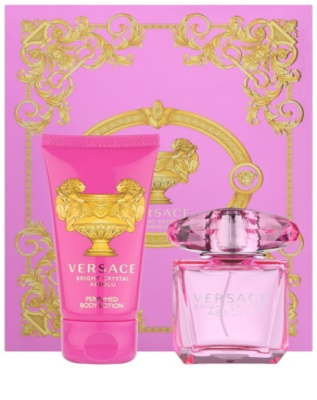 Versace Bright Crystal Absolu zestawy upominkowe