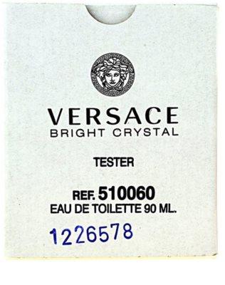 Versace Bright Crystal eau de toilette teszter nőknek 3
