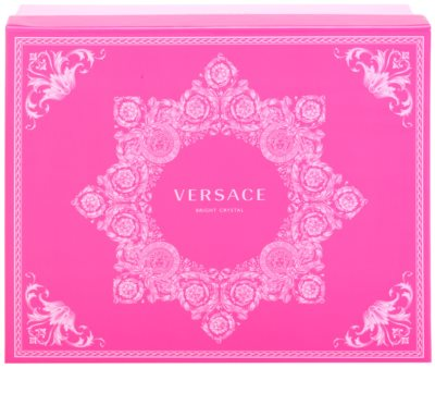 Versace Bright Crystal lotes de regalo 3