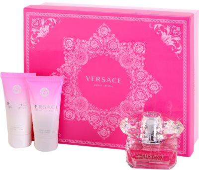 Versace Bright Crystal coffrets presente