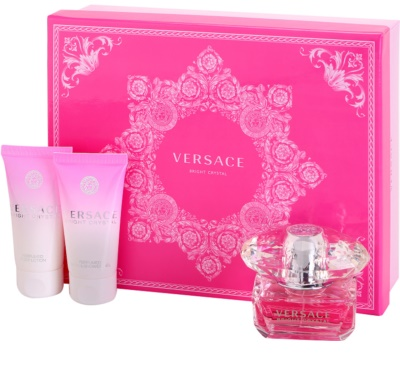Versace Bright Crystal zestawy upominkowe