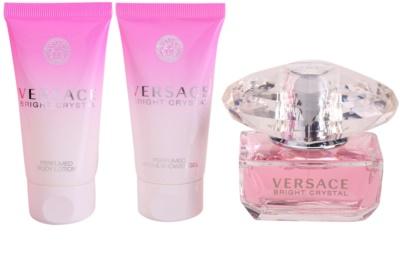 Versace Bright Crystal Gift Sets 2