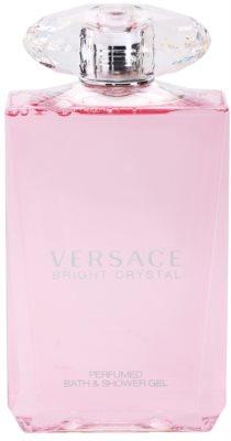 Versace Bright Crystal gel de duche para mulheres 2