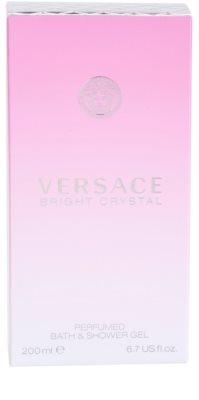 Versace Bright Crystal gel de duche para mulheres 3