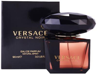Versace Crystal Noir eau de parfum para mujer 1