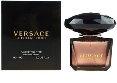 Versace Crystal Noir toaletní voda pro ženy