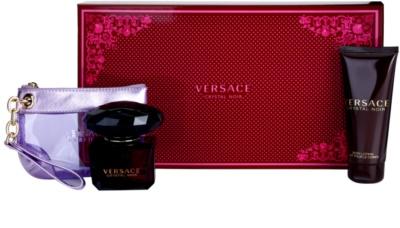 Versace Crystal Noir Gift Sets