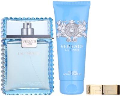 Versace Eau Fraiche Man ajándékszettek 1