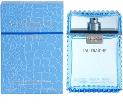 Versace Eau Fraiche Man дезодорант-спрей для чоловіків