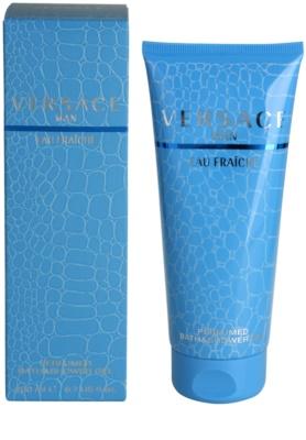 Versace Eau Fraiche Man tusfürdő férfiaknak