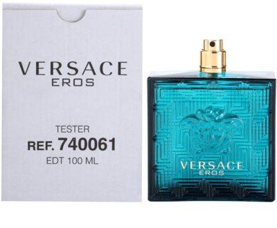 Versace Eros туалетна вода тестер для чоловіків 1