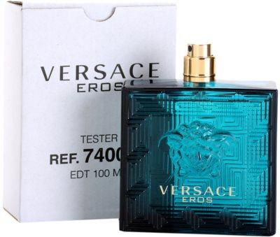 Versace Eros туалетна вода тестер для чоловіків 2