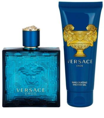 Versace Eros lotes de regalo 2