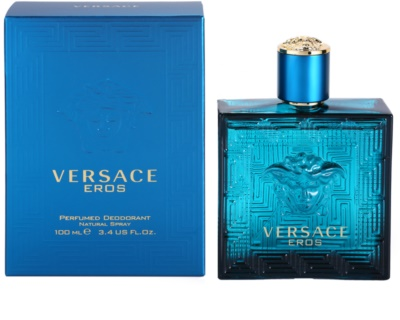 Versace Eros desodorante en spray para hombre