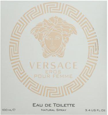 Versace Eros Pour Femme eau de toilette nőknek 4
