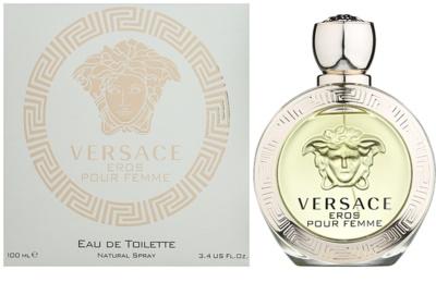Versace Eros Pour Femme eau de toilette nőknek