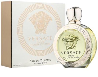 Versace Eros Pour Femme eau de toilette nőknek 1