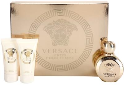 Versace Eros Pour Femme coffrets presente