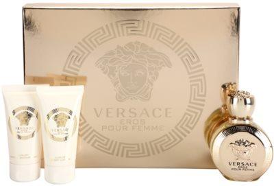 Versace Eros Pour Femme подарункові набори