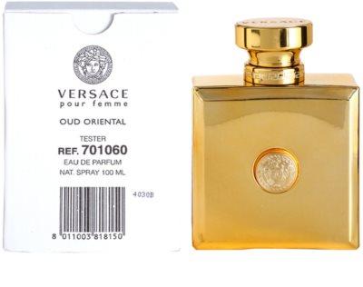 Versace Pour Femme Oud Oriental парфумована вода тестер для жінок 3