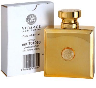 Versace Pour Femme Oud Oriental парфумована вода тестер для жінок 2