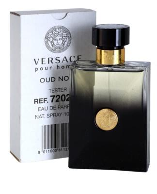 Versace Pour Homme Oud Noir парфюмна вода тестер за мъже 1
