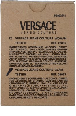 Versace Jeans Couture Glam eau de toilette teszter nőknek 1