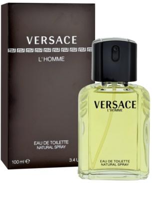 Versace L´Homme Eau de Toilette para homens
