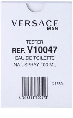 Versace Versace Man toaletní voda tester pro muže 1
