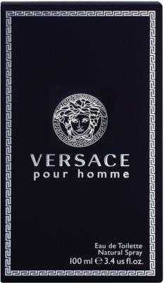 Versace pour Homme Eau de Toilette para homens 4