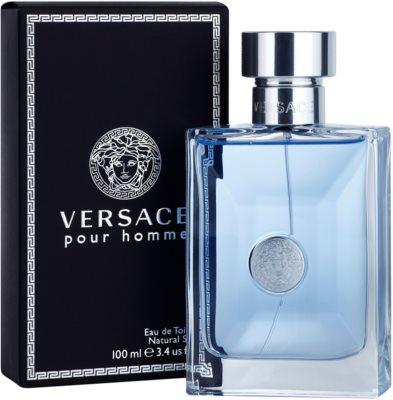 Versace pour Homme Eau de Toilette para homens 1