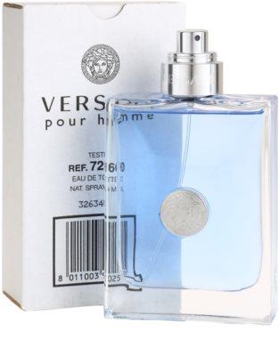Versace pour Homme woda toaletowa tester dla mężczyzn 1