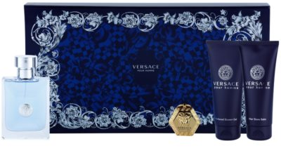 Versace pour Homme zestawy upominkowe