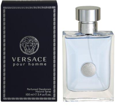Versace pour Homme dezodorant w sprayu dla mężczyzn