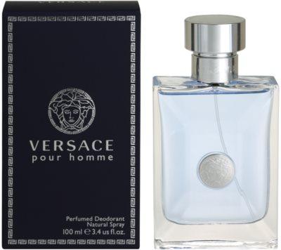 Versace pour Homme дезодорант-спрей для чоловіків