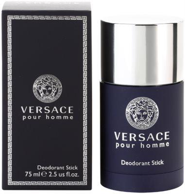 Versace pour Homme desodorante en barra para hombre