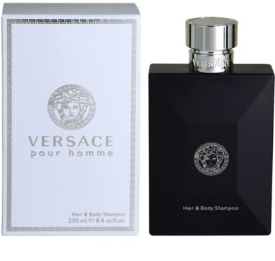 Versace pour Homme gel de ducha para hombre