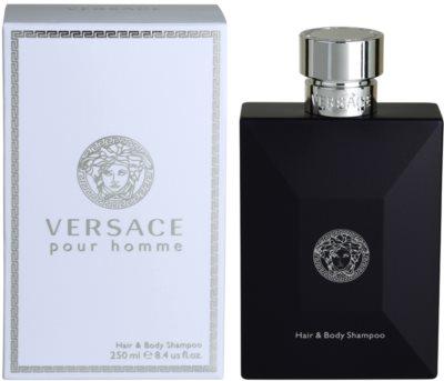 Versace pour Homme gel de duche para homens