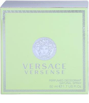 Versace Versense deodorant s rozprašovačom pre ženy 4