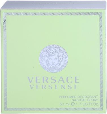 Versace Versense deodorant s rozprašovačem pro ženy 4