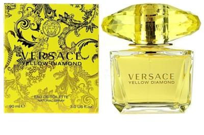 Versace Yellow Diamond Eau de Toilette para mulheres