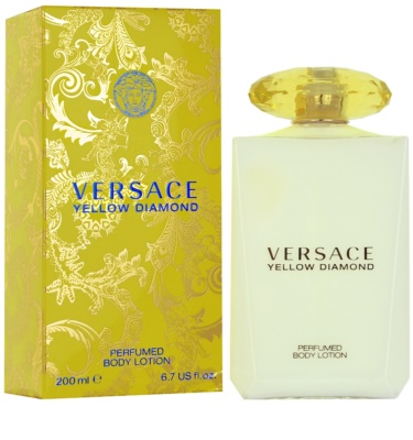 Versace Yellow Diamond leite corporal para mulheres