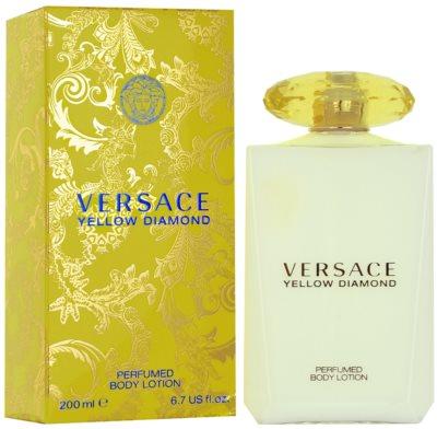 Versace Yellow Diamond tělové mléko pro ženy