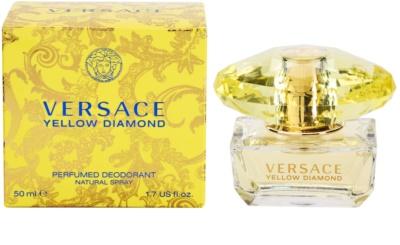 Versace Yellow Diamond desodorante con pulverizador para mujer