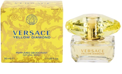 Versace Yellow Diamond desodorizante vaporizador para mulheres
