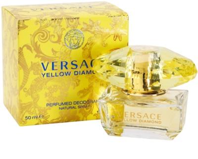 Versace Yellow Diamond Deo mit Zerstäuber für Damen 1