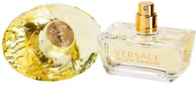 Versace Yellow Diamond Deo mit Zerstäuber für Damen 3